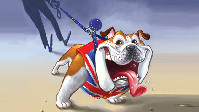 British Bulldog illustration