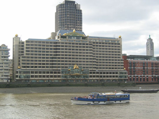 Picture showing the Sea Containers House in London